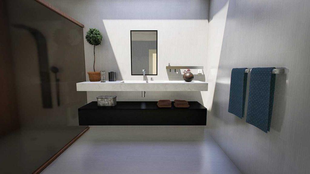 Redecorezi baia: Spatii de depozitare baie